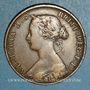 Monnaies Canada. Nouvelle-Ecosse. 1 cent 1861