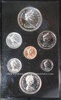 Monnaies Canada. Série FDC 1975