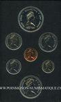 Monnaies Canada. Série FDC 1977 double dollar