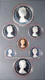 Monnaies Canada. Série FDC 1981