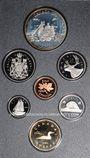 Monnaies Canada. Série FDC 1989