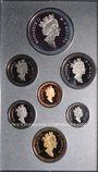 Monnaies Canada. Série FDC 1995