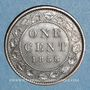 Monnaies Canada. Victoria (1837-1901). 1 cent 1858