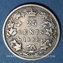 Monnaies Canada. Victoria (1837-1901). 25 cents 1888