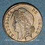 Monnaies Chili. République. 1/2 centavo 1871