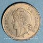 Monnaies Chili. République. 1 centavo 1871