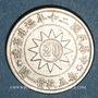 Monnaies Chine. Fukien. Monnayage républicain. 20 cents an 20 (= 1931)