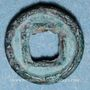 Monnaies Chine. Les Han de l'Ouest. Xuandi (73-49 av. J-C) - Yuandi (48-33 av. J-C). Petit wuzhu, type B