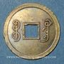 Monnaies Chine. Les Qing. De Zong (1875-1908) - ère Guang Xu (1875-1908). 1 cash, Guangzhou (Guangdong)