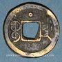 Monnaies Chine. Les Qing. De Zong (1875-1908) - ère Guang Xu (1875-1908). 1 cash, Tianjin (Zhili)
