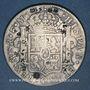Monnaies Chine. Qing. Monnaies étrangères en argent contremarquées - Mexique, 8 réales 1773 FM