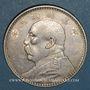 Monnaies Chine. République. 1 dollar an 3 (1914)