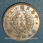 Monnaies Chine. République. 20 cents an 15 (1926)