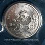Monnaies Chine. République Populaire. 10 yuan 1991 Panda