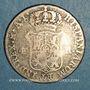 Monnaies Cuba. Isabelle II (1833-1868). 4 reales (1841) contremarqué sur 4 reales de Joseph Napoléon
