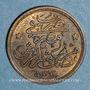 Monnaies Egypte. Abdoul Hamid II (1293-1327H = 1876-1909). 1/20 qirsh 1293H, an 10