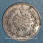 Monnaies Egypte. Mehmet V (1327-1332H = 1909-1914). 1 qirsh 1327H, an 2. Birmingham