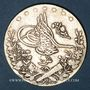 Monnaies Egypte. Mehmet V (1327-1332H = 1909-1914). 10 qirsh 1327/6H (= 1913)