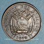 Monnaies Equateur. République. 1 centavo 1872 HEATON