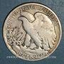 Monnaies Etats-Unis. 1/2 dollar 1927 S. San Francisco