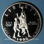 Monnaies Etats Unis. 1/2 dollar 1995S San Francisco. J.O. d'Atlanta, basketball