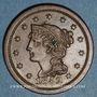 Monnaies Etats Unis. 1 cent 1852