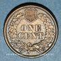 Monnaies Etats Unis. 1 cent 1861
