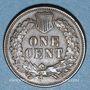 Monnaies Etats Unis. 1 cent 1875