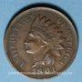 Monnaies Etats Unis. 1 cent 1901