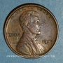 Monnaies Etats Unis. 1 cent 1909 VDB