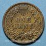 Monnaies Etats Unis. 1 cent 1909