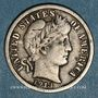 Monnaies Etats Unis. Barber dime 1914
