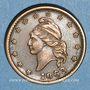Monnaies Etats Unis. Civil War Token. Jeton de la guerre de Sécession (1861-1865). Cuivre