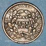 Monnaies Etats Unis. Hard Times token. Jeton satirique. May tenth, 1837. Cuivre. 28 mm