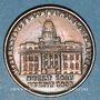 Monnaies Etats Unis. Hard Times token. Jeton satirique. Merchants Exchange, New York. Cuivre. 28 mm