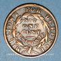 Monnaies Etats Unis. Hard Times token. Jeton satirique. Shinplasters, 1837. Cuivre. 28 mm