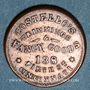 Monnaies Etats Unis. Ohio. Cincinnati. Costello's Trimmings & Fancy goods