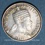 Monnaies Ethiopie. Ménélik II (1889-1913). 1 gersh 1891A de l'ère éthiopienne (= 1899)