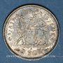 Monnaies Ethiopie. Ménélik II (1889-1913). 1 gersh 1895A de l'ère éthiopienne (= 1902)