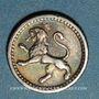 Monnaies Guatemala. République. 1/4 real 1867
