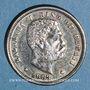 Monnaies Hawaï. Kalakava I (1874-1891). 1 dime 1883