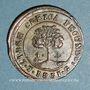 Monnaies Honduras. Etat du Honduras. 4 reales 1851 T G