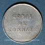 Monnaies Honduras. République. 1/4 real 1872. Essai