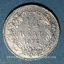 Monnaies Honduras. République. 1/4 real 1872 essai