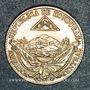 Monnaies Honduras. République. 1/8 real 1870A