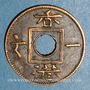 Monnaies Hong Kong. Victoria (1837-1901). 1 mil 1863