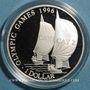 Monnaies Iles Caïmans. Elisabeth II (1952 -). 1 dollar 1996.  (PTL 925/1000. 28,28 g)