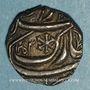 Monnaies Inde. Bahawalpur. Bhawal Khan III (1241-1269H = 1825-1852). Roupie 1253H (Ahmadpur ?)