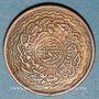 Monnaies Inde. Hyderabad. Mir Usman Ali Khan (1329-1367H = 1911-1948). 2 pai 1330H /1 = 1911