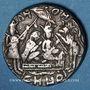 Monnaies Inde. Jeton de Temple (Ramatanka). Fin du 18e - 1ère moitié du 19e siècle